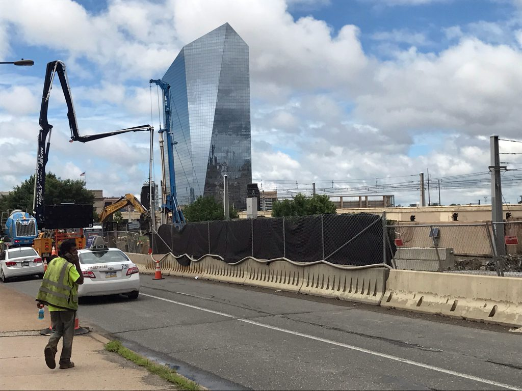 Pennsylvania Department of Transportation, Rehabilitation of JFK Blvd Bridges