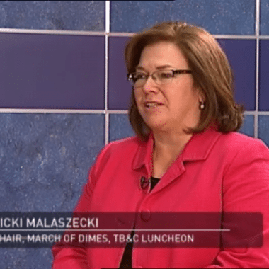Vicki Malaszecki on Comcast Newsmakers: March of Dimes