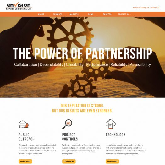 Envision has a new website!