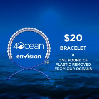 Envision Partners with 4ocean in Support of Cleaner Oceans