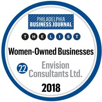 Envision is #22 on the PBJ's Women Owned Businesses List