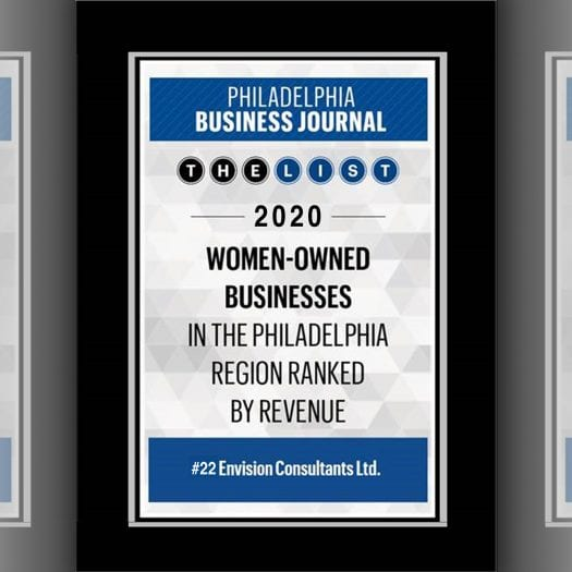 Envision Ranked #22 on the PBJ's Women-Owned Businesses List
