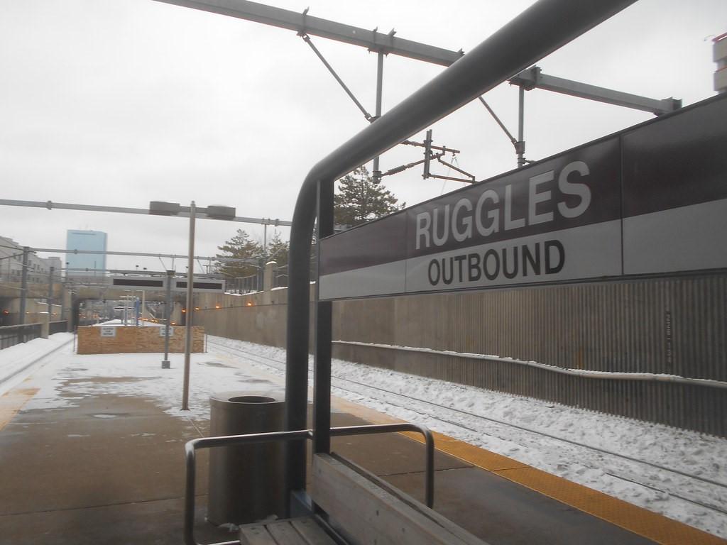 Massachusetts Bay Transportation Authority (MBTA) Ruggles Station Platform Improvement Project – TIGER 8 Grant Program