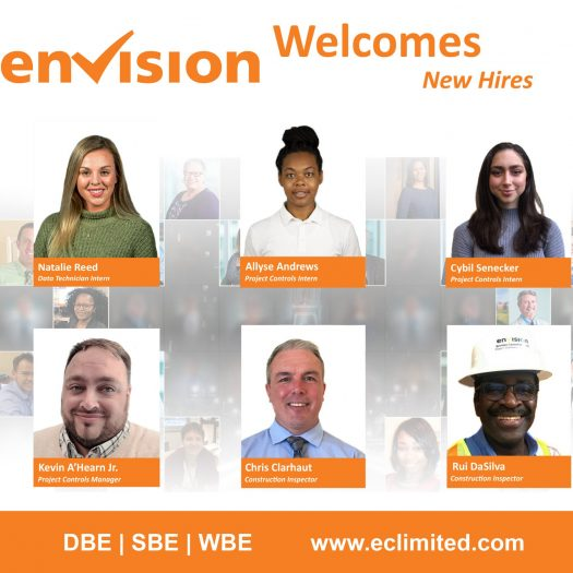 Envision Welcomes New Hires