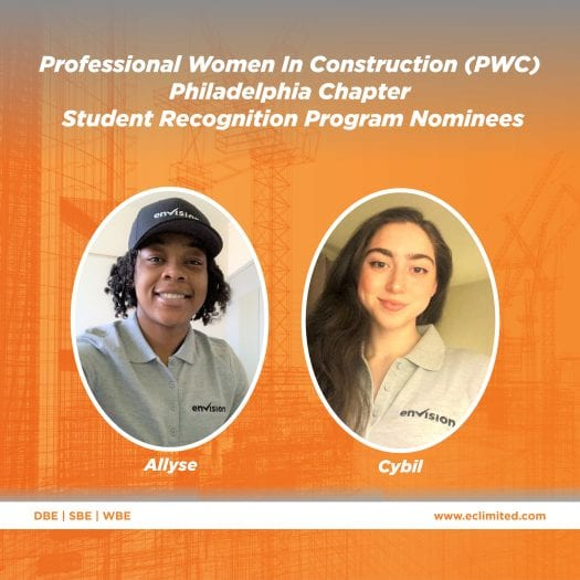 Envision Nominates Team Members to PWC's Student Recognition Program