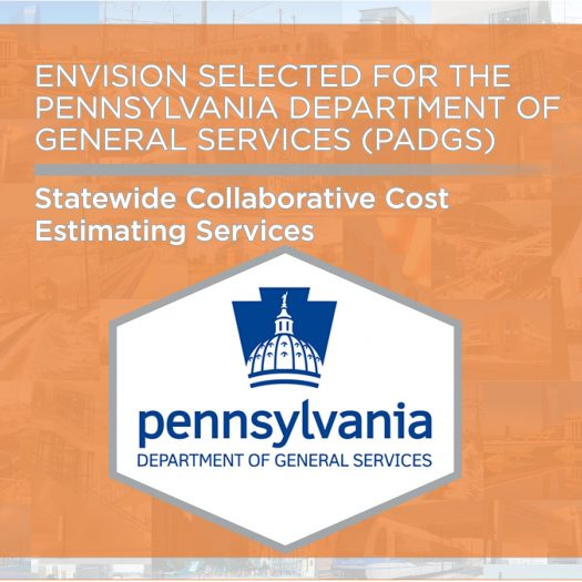 Envision Selected for the Pennsylvania Department of General Services' Collaborative Cost Estimating On-Call