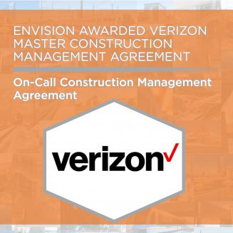 Envision Awarded Verizon Master Construction Management Contract